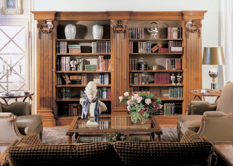 Библиотека provasi capitelli ciliegio - 0690 купить мебель д.